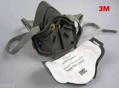 New 3M 3200 N95 PM2.5 Gas Protection Filter Respirator Dust Mask High Quality
