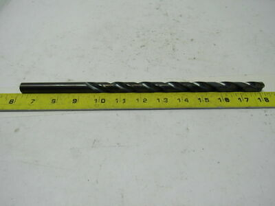 "Precision Twist 59634 17/32"" Extra Length HSS 12"" OAL Straight Shank  Drill Bit"