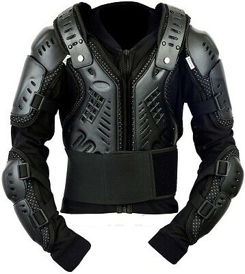Motorbike Motorcycle Motocross Enduro Body Armour Jacket Spine Protector CE!