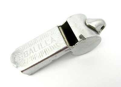 Vintage Old Referee Police Whistle Balilla Calcio Soccer Original
