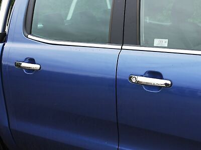 Chrome Door Handle Covers Trim Stainless Steel 4 Handles for Ford Ranger (11+ )