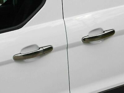 Chrome Door Handle Covers Trim Stainless Steel 4 Handles for Ford C-Max (03-10)
