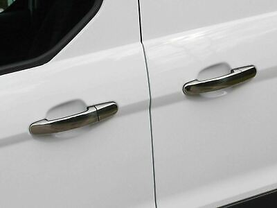 Chrome Door Handle Covers Trim Stainless Steel 4 Handles for Ford Focus (11+ )