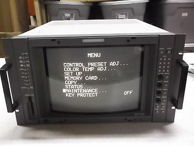 """Sony Trinitron BVM-14G5U 13"""" Color Video Monitor Security *FREE SHIPPING*"""