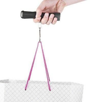 Fashion Portable Travel Luggage LCD Scale Weight Pack Hanging Hook Scale 40Kg