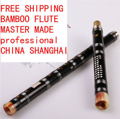 Bamboo Flute Dizi Musical Instrument Chinese Professional C-G Key 2 Sections New