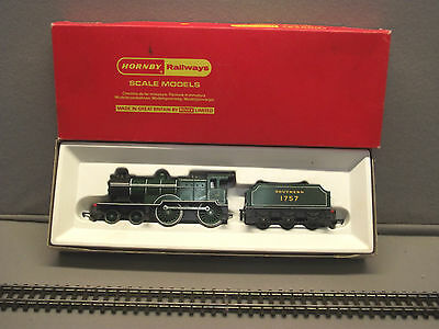 TRI-ANG HORNBY R.350 Southern Railways 1757 4-4-0 Locomotive & Tender Mint Box