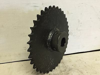 """Single Row Sprocket, 50BS36, 36 tooth, 1"""" bore with 3/8"""" keyway, Used"""