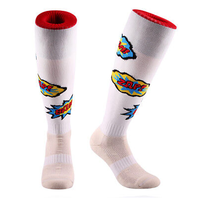 Samson® Funky Boom Zap Comics Socks Football Rugby Hockey Sport Mens Womens Kids