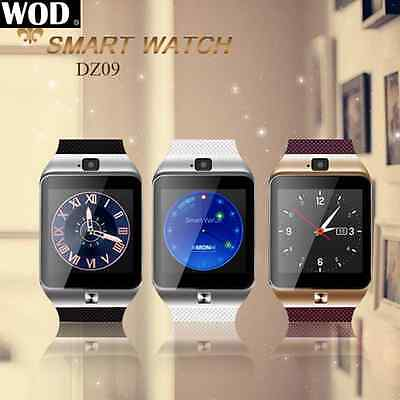 DZ09 Reloj Inteligente Smart Watch Bluetooth SIM Para iPhone Samsung HTC Android
