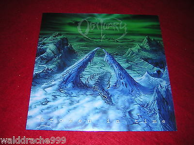 Obituary - Frozen in Time, RRCAR8156-1 Vinyl LP 2011, new and sealt