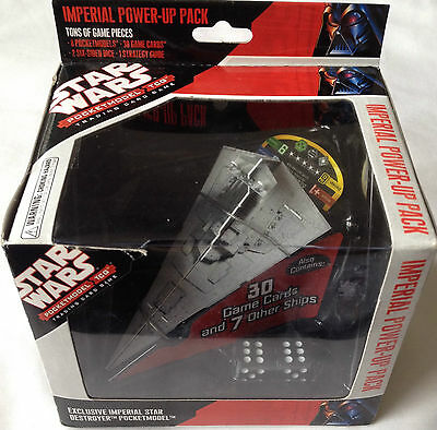 Star Wars Pocket Model Tcg Imperial Power Up Pack New Sealed