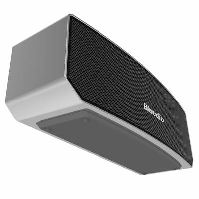 Bluedio BS-3 Bluetooth Stereo Wireless 3D Portable Mini Home Mic Speakers Sliver