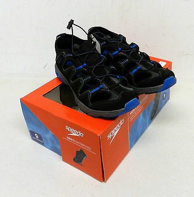 Speedo Men's WaterShoes Black/Blue Different Sizes New