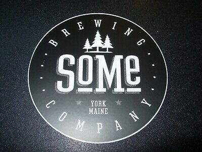 SoMe BREWING CO Maine Apostrophe STICKER decal craft beer brewery