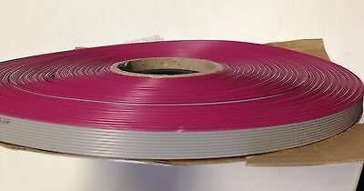 Flat cable 10 Pin 10 Wires IDC Ribbon Roll 250 Ft. Long 12mm wide