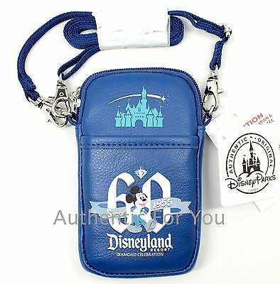Disney Parks D-Tech Disneyland 60th Diamond Celebration Smartphone Case Wallet