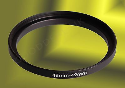 46mm to 49mm 46-49 46-49mm 46mm-49mm Stepping Step Up Filter Ring Adapter
