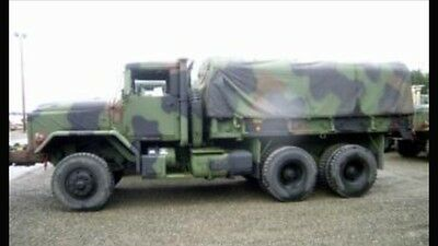 NEW Miltary 5 Ton CAMOFLAUGE VINYL TARP KIT With Bows. M813 M923 M54. Fitted.