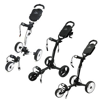 NEW Axglo Golf TriLite 3 Wheel Push Cart For Bag 2016 Choose the Color!