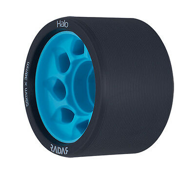 Radar - Halo 95a Blue roller derby wheels ( 4 pack )