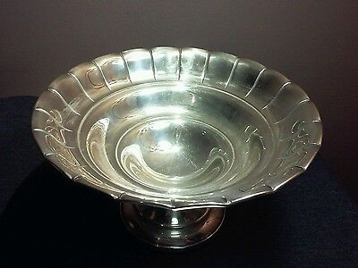 Antique Cheshire Silver Plate #71 Bowl
