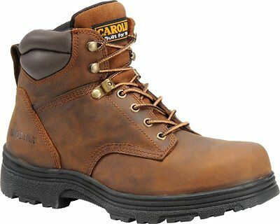 "Carolina Men's 6"" Waterproof Steel Toe Work Boot"