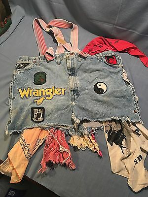 Vintage Rodeo Clown Baggies Shorts Wranglers Vintage Patches Authentic Cowboy