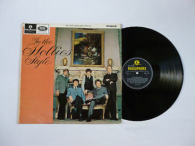 The Hollies ~ In The Hollies Style ~ Pmc 1235 ~ Ex-/vg+ ~ 1964 Uk Mono Vinyl Lp