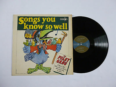The Foley Gang ~ Songs You Know So Well ~ Cps 87 ~ Ex-/ex ~ Rare Uk Vinyl Lp