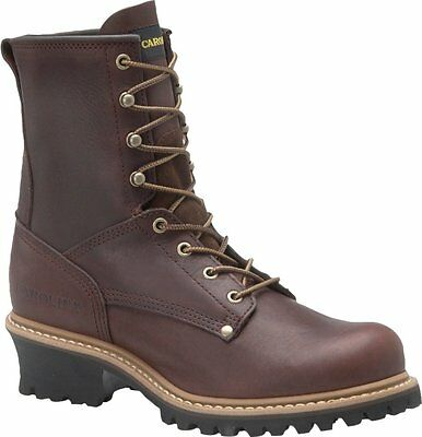 "Carolina Men's 8"" Steel Toe Logger"
