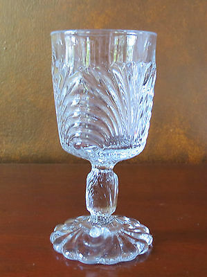 Cambridge Caprice CRYSTAL CLEAR Pressed Water Goblet(s)