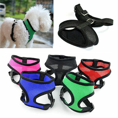 Small Dog / Cat / Pet Control Harness Soft Mesh Dog Harness Safety Strap Vest