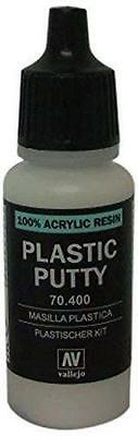 Vallejo 100% Acrylic Resin Plastic Putty 17ml VAL 70400