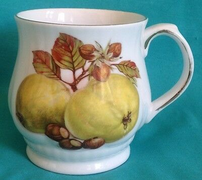 Royal Staffordshire Harvest Fruits/Pears Cup Hand Painted England