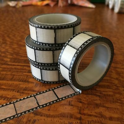 Washi Tape Film Photographic 15Mm X 5Mtrs Craft Plan Scrap Wrap