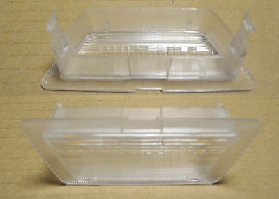 Opel Vauxhall ASTRA G 1998-2005 rear number plate light glass  NEW