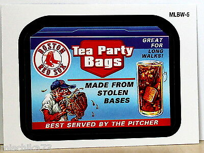 Topps Baseball 2016 Series 1  Nr.MLBW-5 Wacky Packages - Boston Red Sox