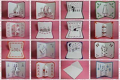 Brother ScanNCut Xmas popup insert & card templates CD1036