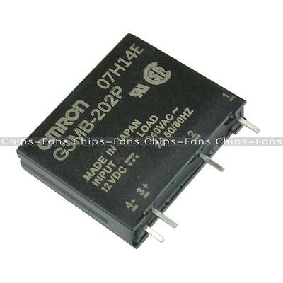 10PCS G3MB-202P DC-AC PCB SSR In 12VDC AC 2A Out 240V Solid State Relay Module