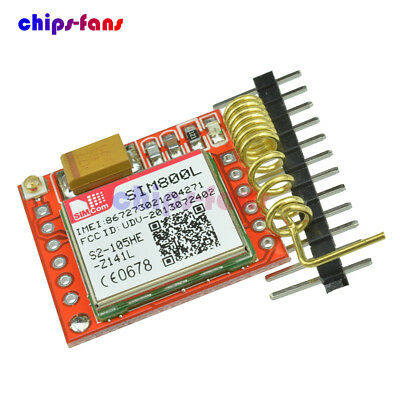 Smallest SIM800L GPRS GSM Module Card Board Quad-band Onboard TTL Port