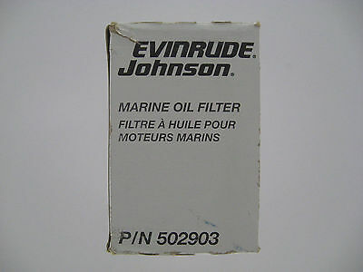 Evinrude Johnson Marine Oil Filter 502903 0765576 18-7879 0502903 9-57803