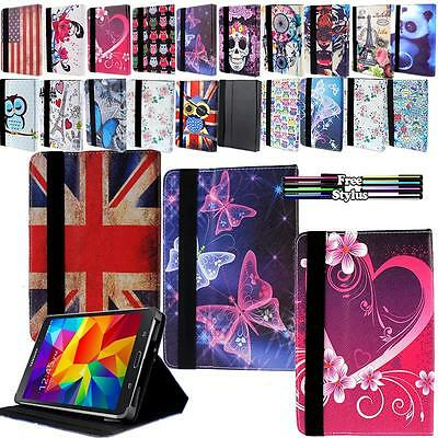 """Folio Stand Leather Case Cover For  Samsung Galaxy Tab/Note 9"""" 10"""" Tablet"""