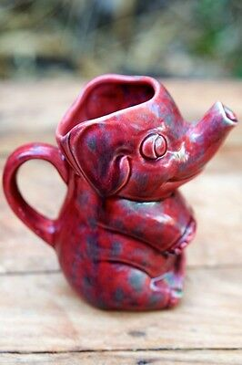 Vintage Artistic Potteries of California Elephant Pitcher/Creamer 5""