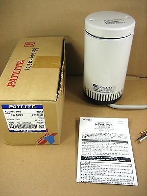 PATLITE LGEBC-24FB 24V AC/DC Power Unit to Signal Tower, NEW