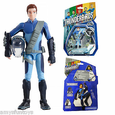 New Official Thunderbirds Are Go! Action Figure Scott Tracy