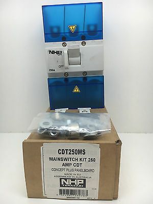 NHP CDT250MS Main Switch Kit For Concept Panelboard 250A