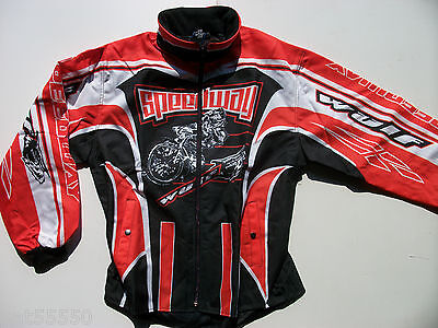 New Wulfsport Speedway Jacket Red Fan Supporter Aces Bees Stars Hammers Lions