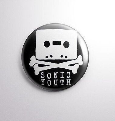 SONIC YOUTH -  Pinbacks Badge Button 25mm 1'' -*