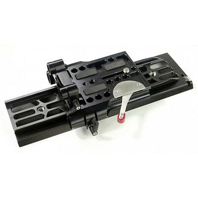 Camtree 19-15mm Base Plate With Dovetail Tripod Plate (Arri Standard) (CH-DTPQ)